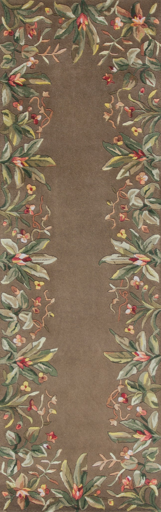 Emerald 9000 Taupe Tropical Border