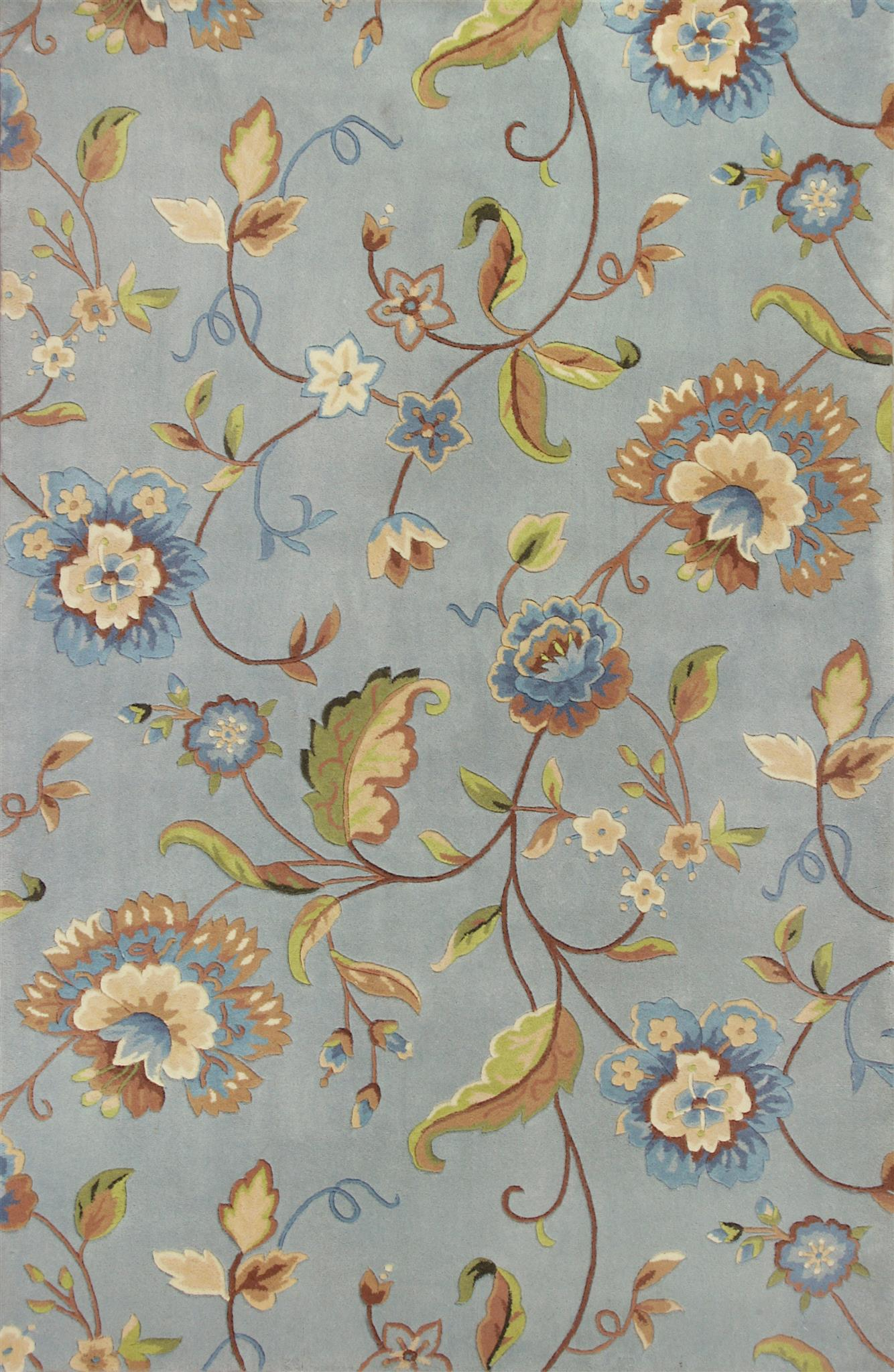 Emerald 9030 Blue Quincy Floral