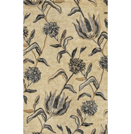 Florence 4576 Ivory/Blue Wildflowers