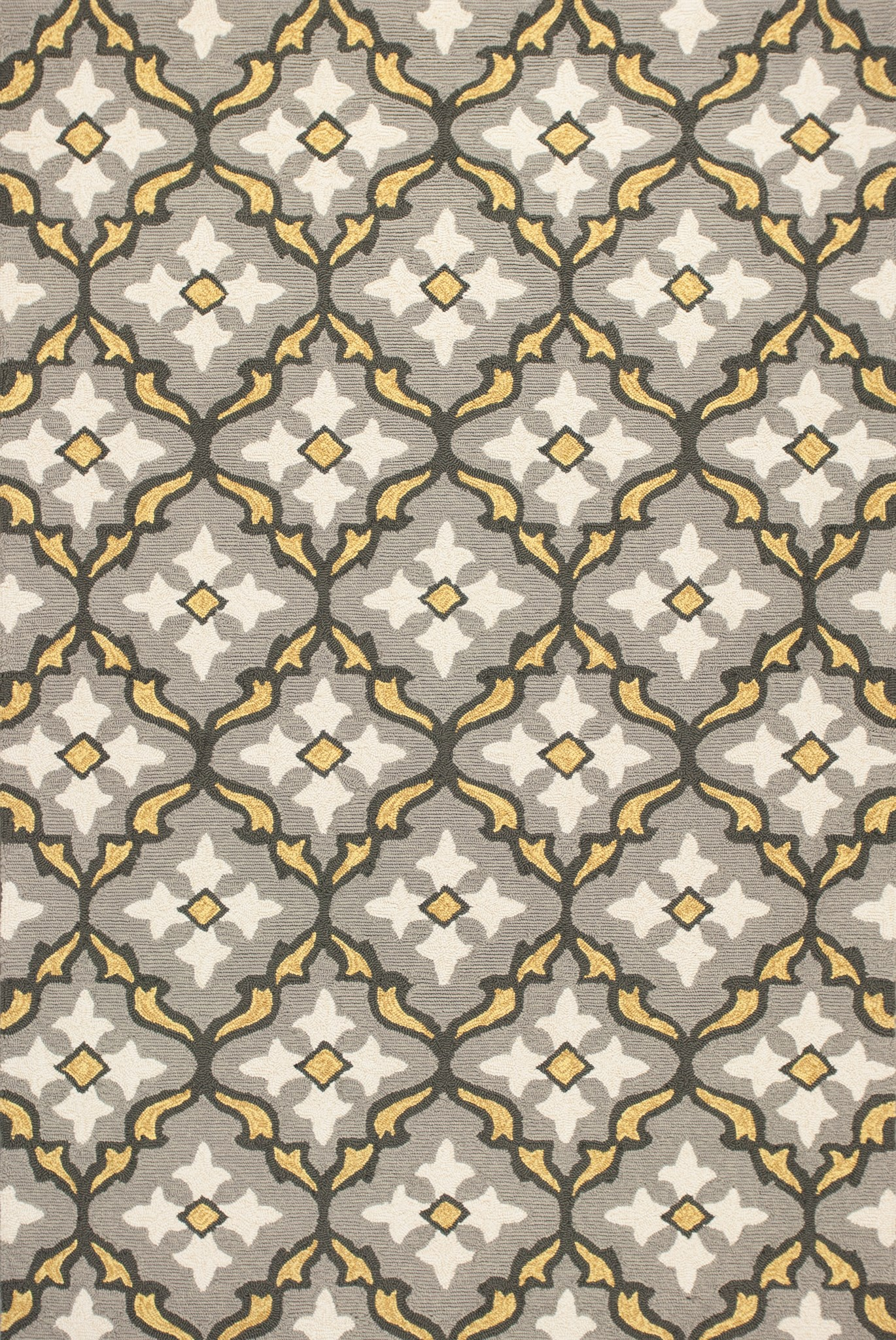 Harbor 4209 Grey/Gold Mosaic
