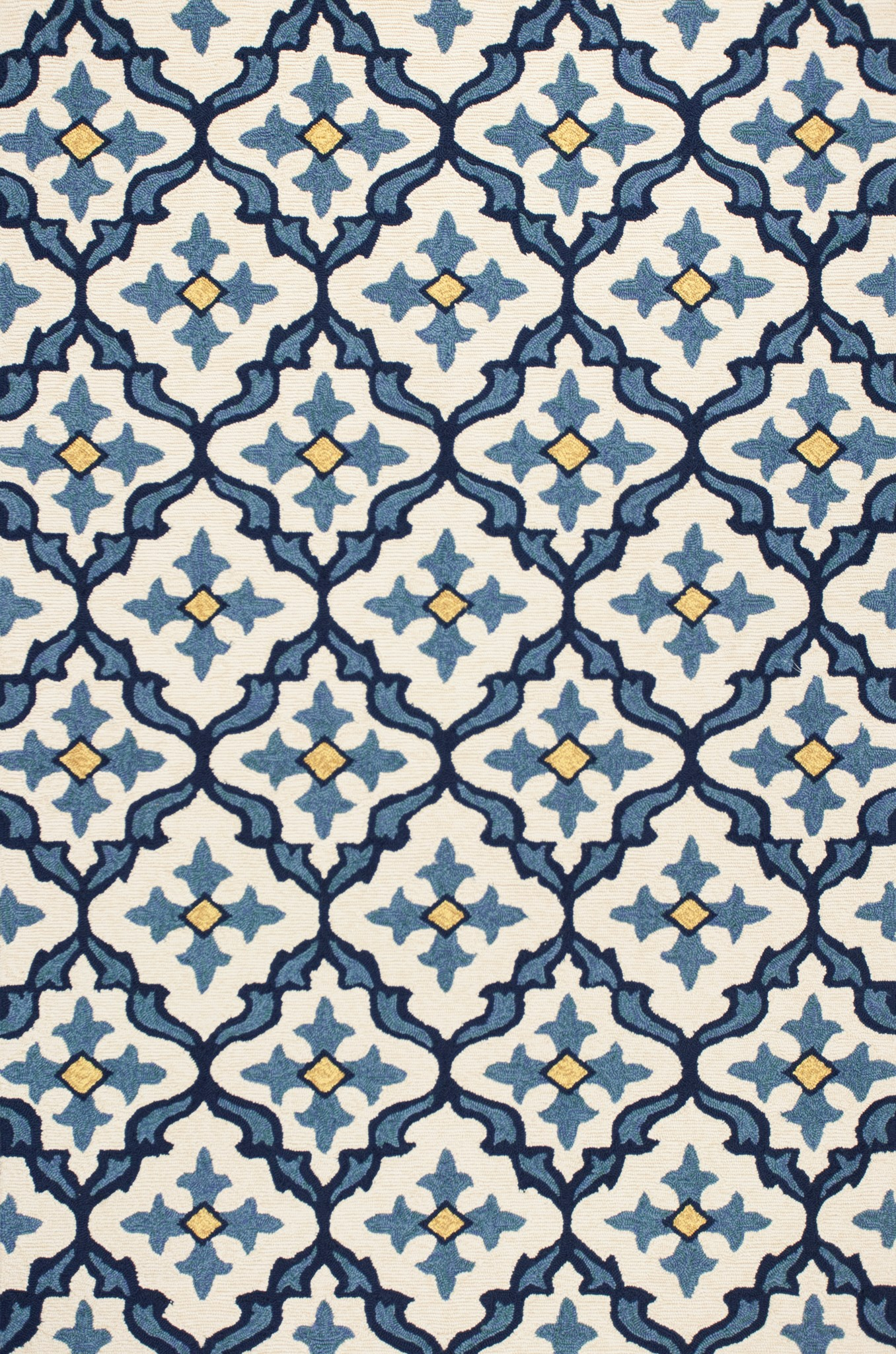 Harbor 4210 Ivory/Blue Mosaic