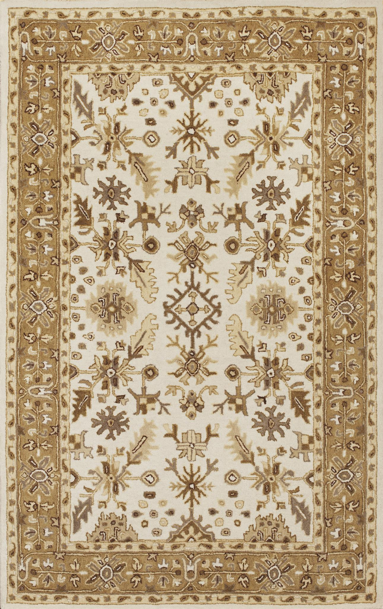 Jaipur 3862 Ivory/Coffee Tapestry