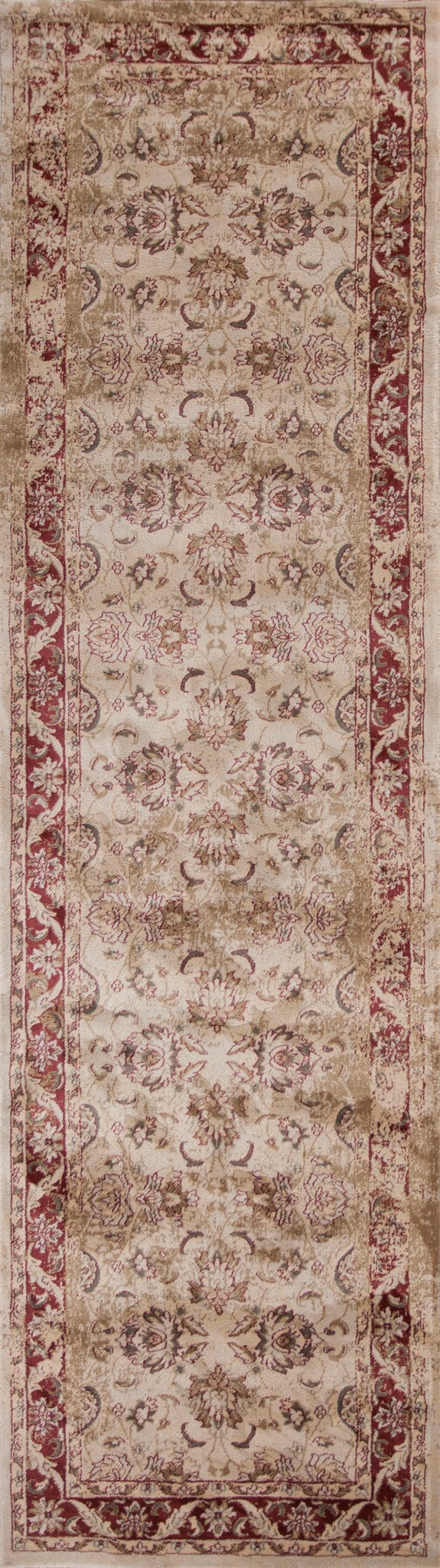 Jasmine 3759 Ivory/Red Traditions