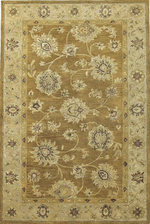 Coffee/Beige Allover Kashan