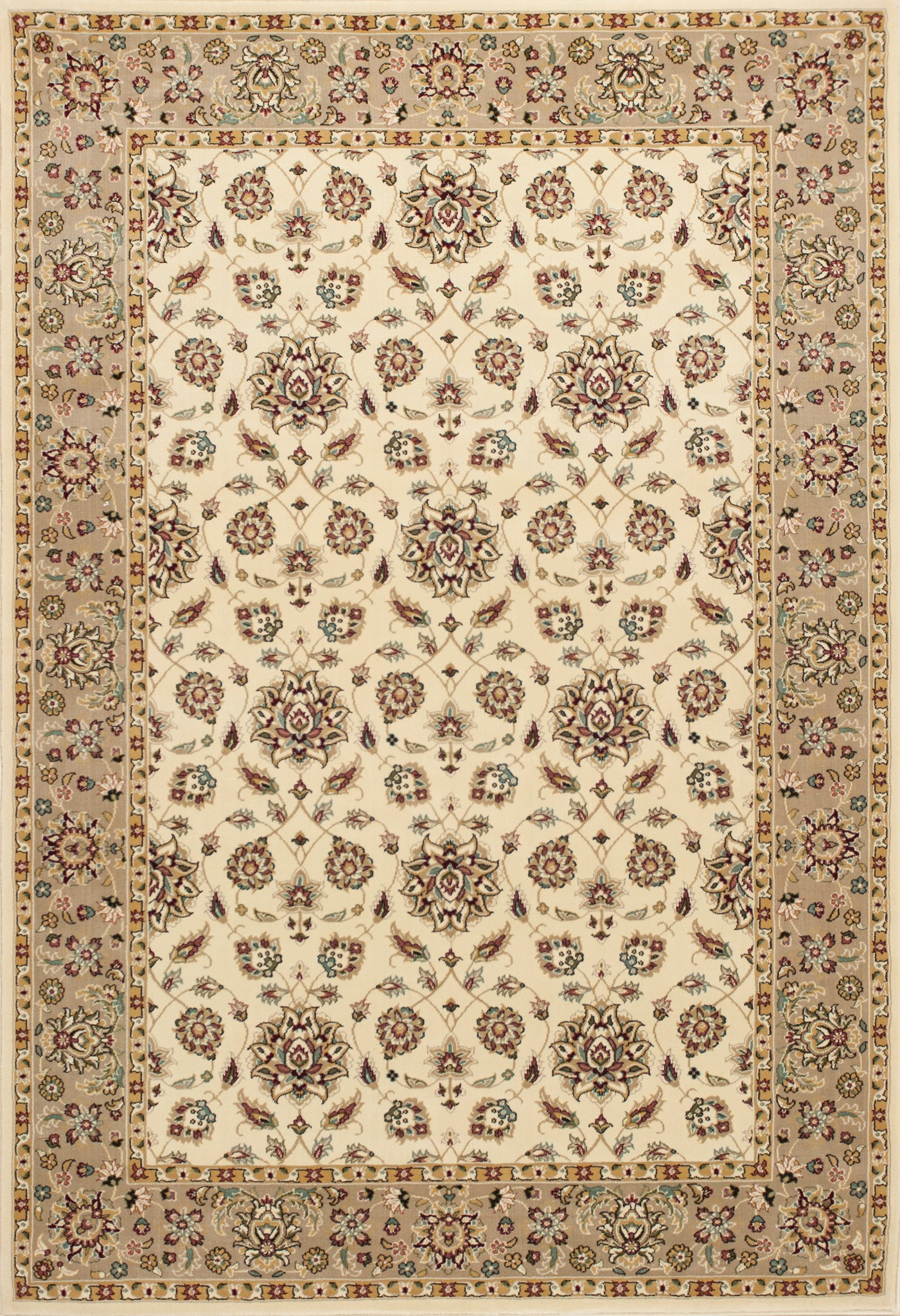 Kingston 6407 Ivory/Beige Mahal