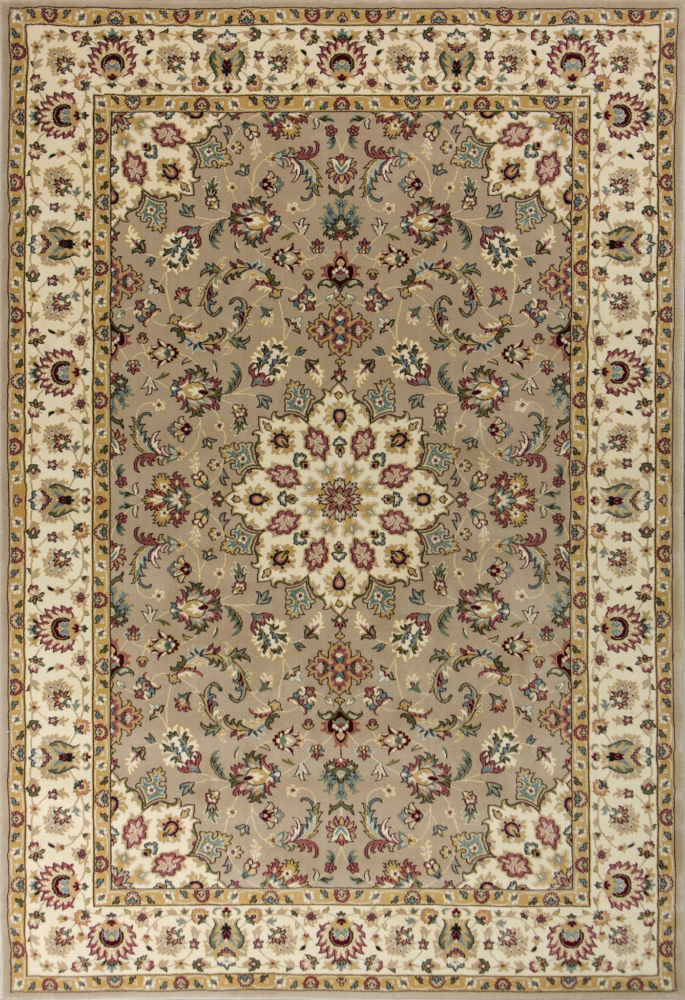 Kingston 6413 Beige/Ivory Tabriz