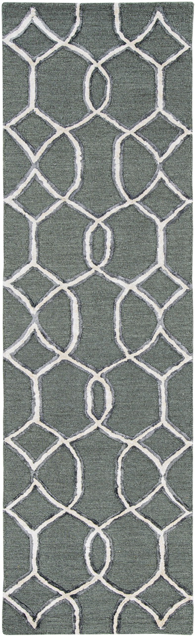 Libby Langdon Upton 4303 Charcoal/Snow Groovy Gate