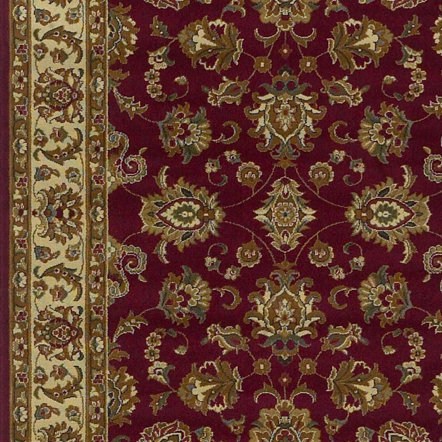 Lifestyles 5431 Red/Ivory  Kashan