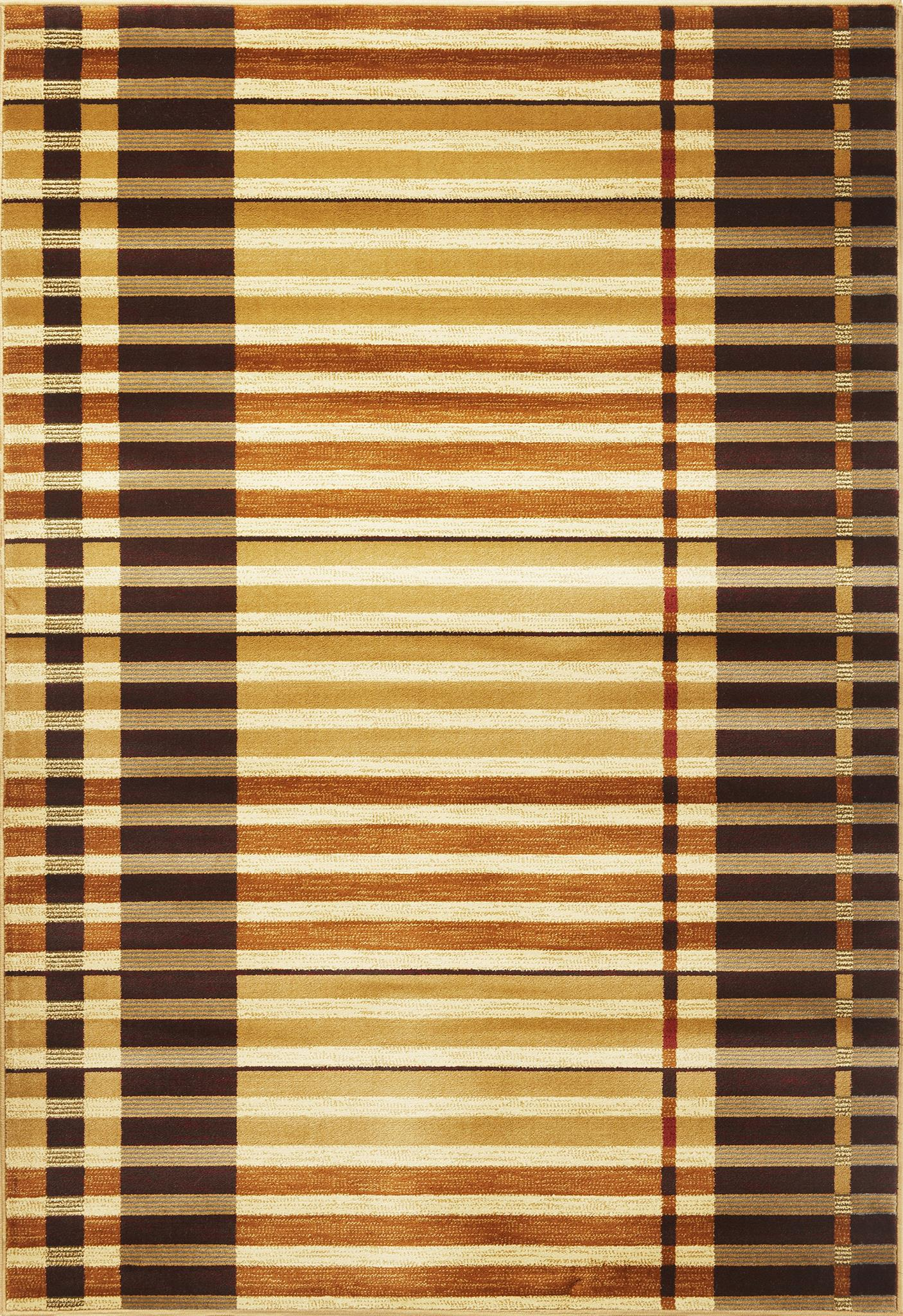Lifestyles 5475 Earthtone Stripes
