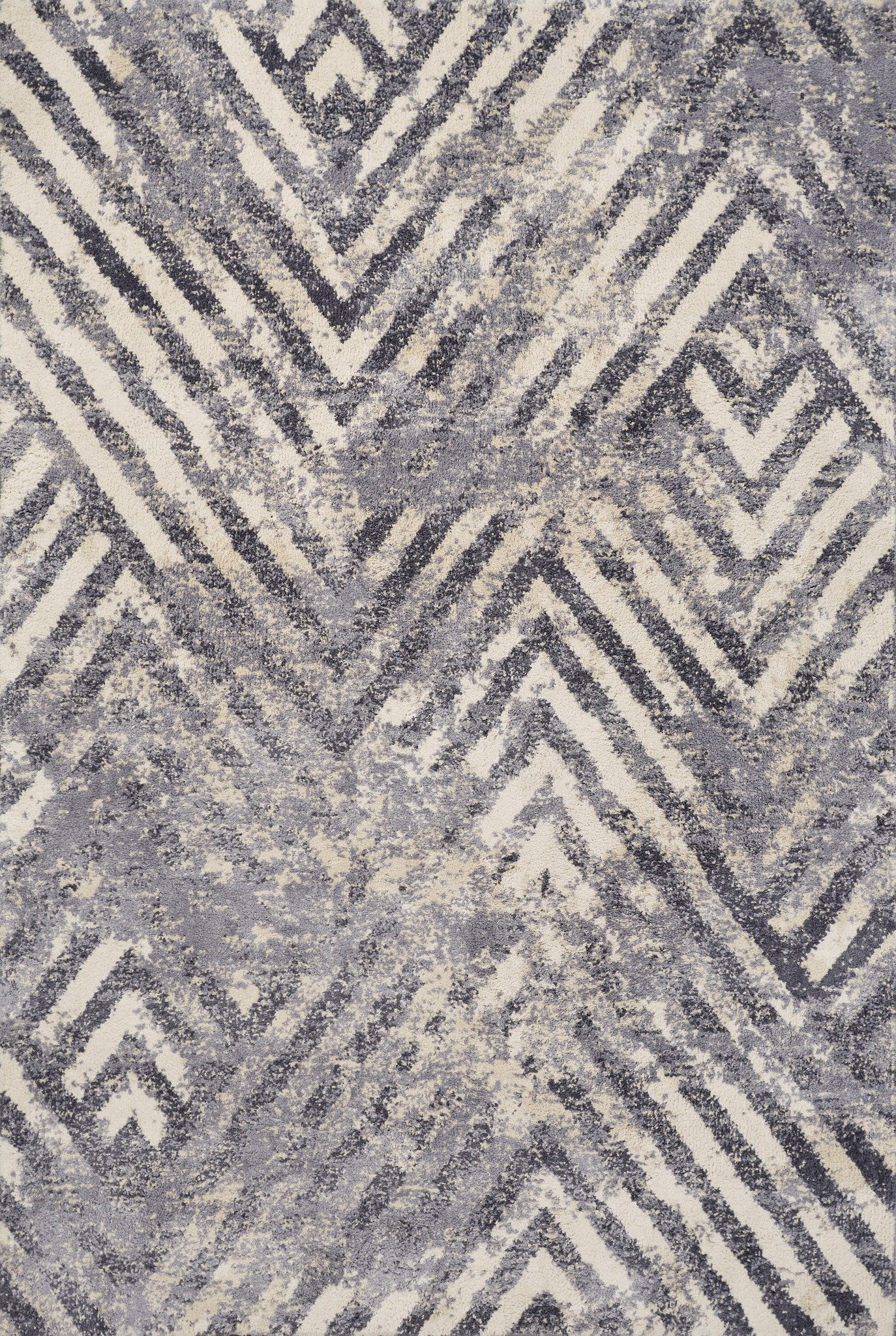 Madison 3421 Ivory/Slate Herringbone