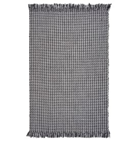 Maui 1341 Grey Houndstooth