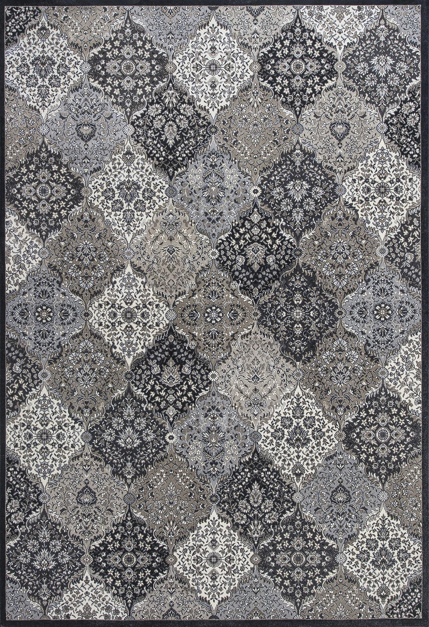 Montecarlo IV 5131 Metallic Borderless Kashan