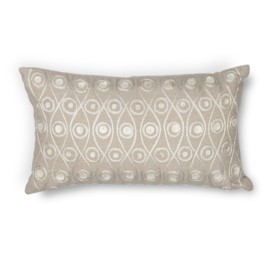 L224 Taupe Waves Pillow