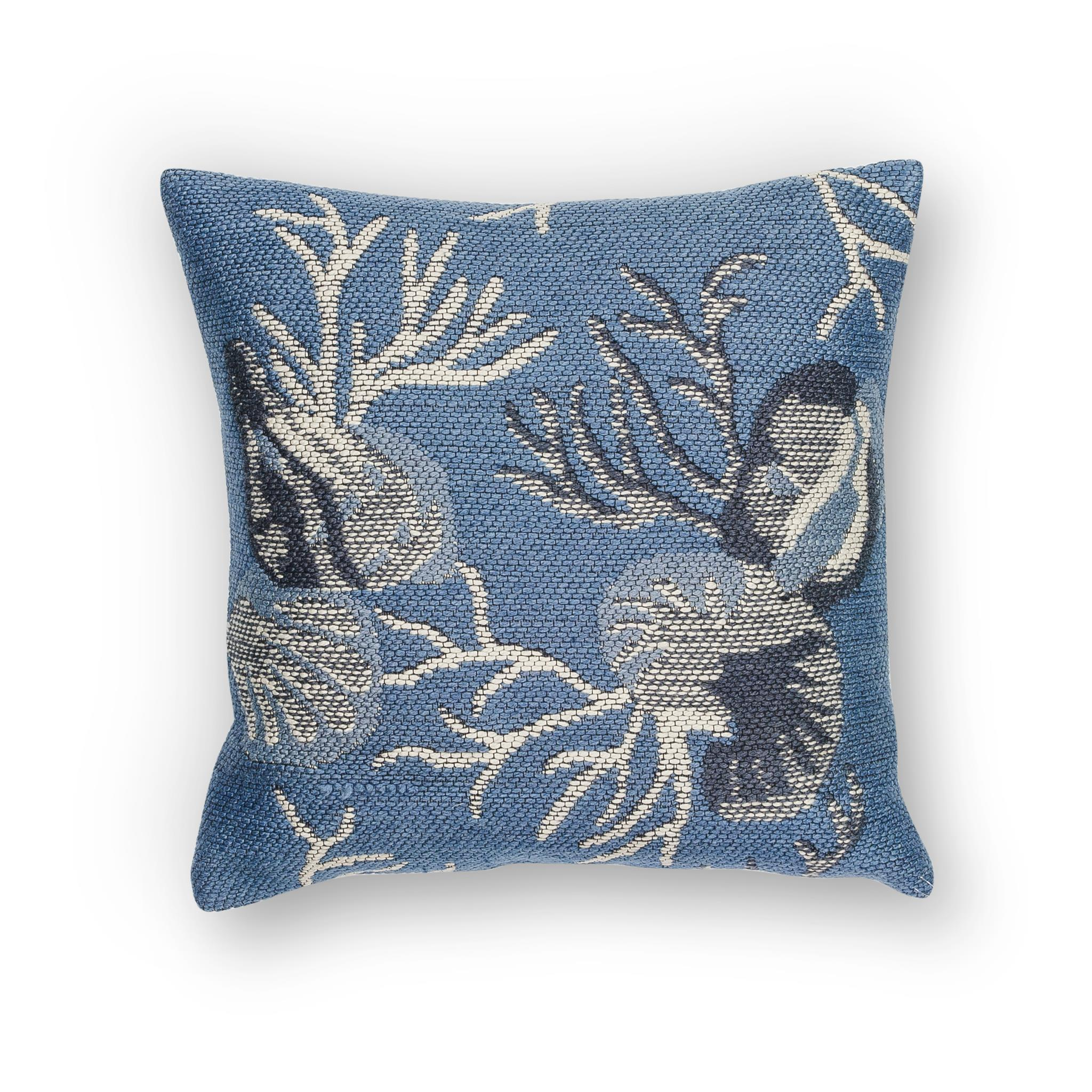 L226 Blue Oceania Pillow