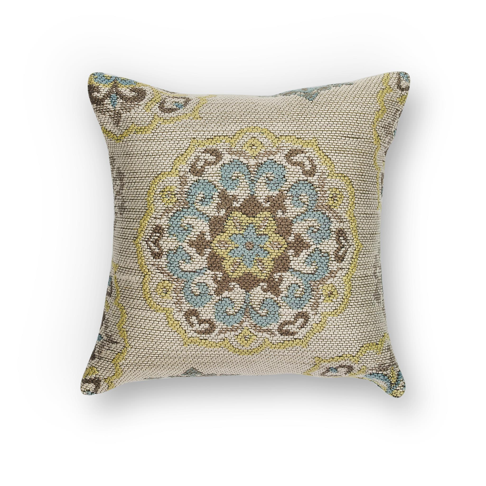 L234 Ivory Mosaic Pillow