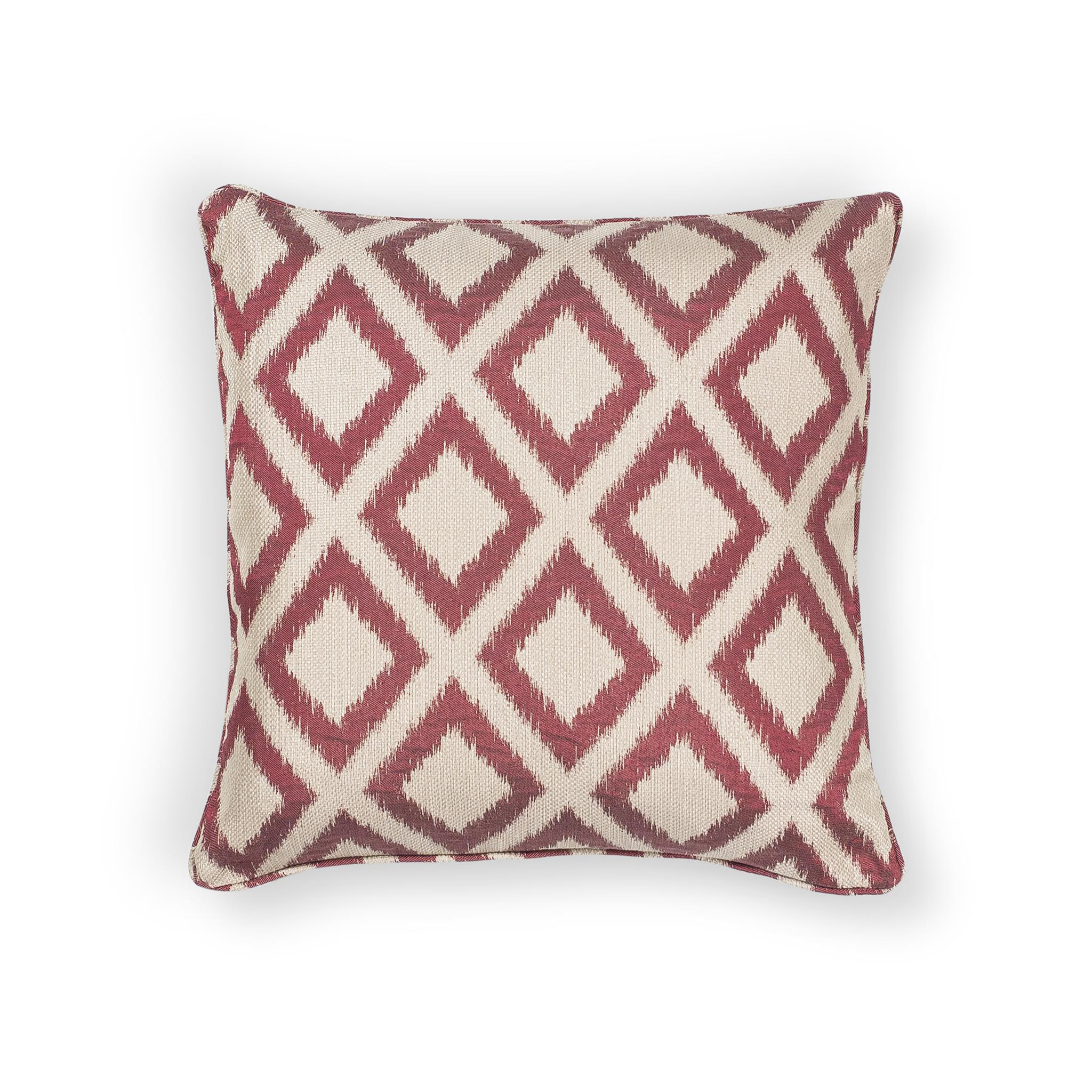 L243 Red Diamonds Pillow