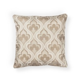 L252 Beige Flames Pillow