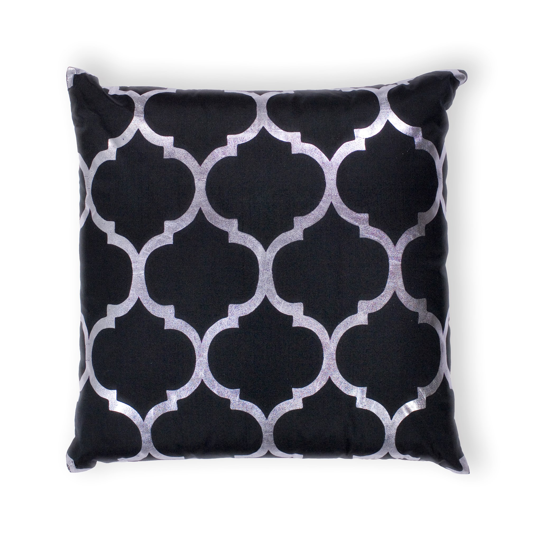 L300 Black Trellis Pillow