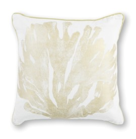 L303 Ivory/Gold Coral Pillow
