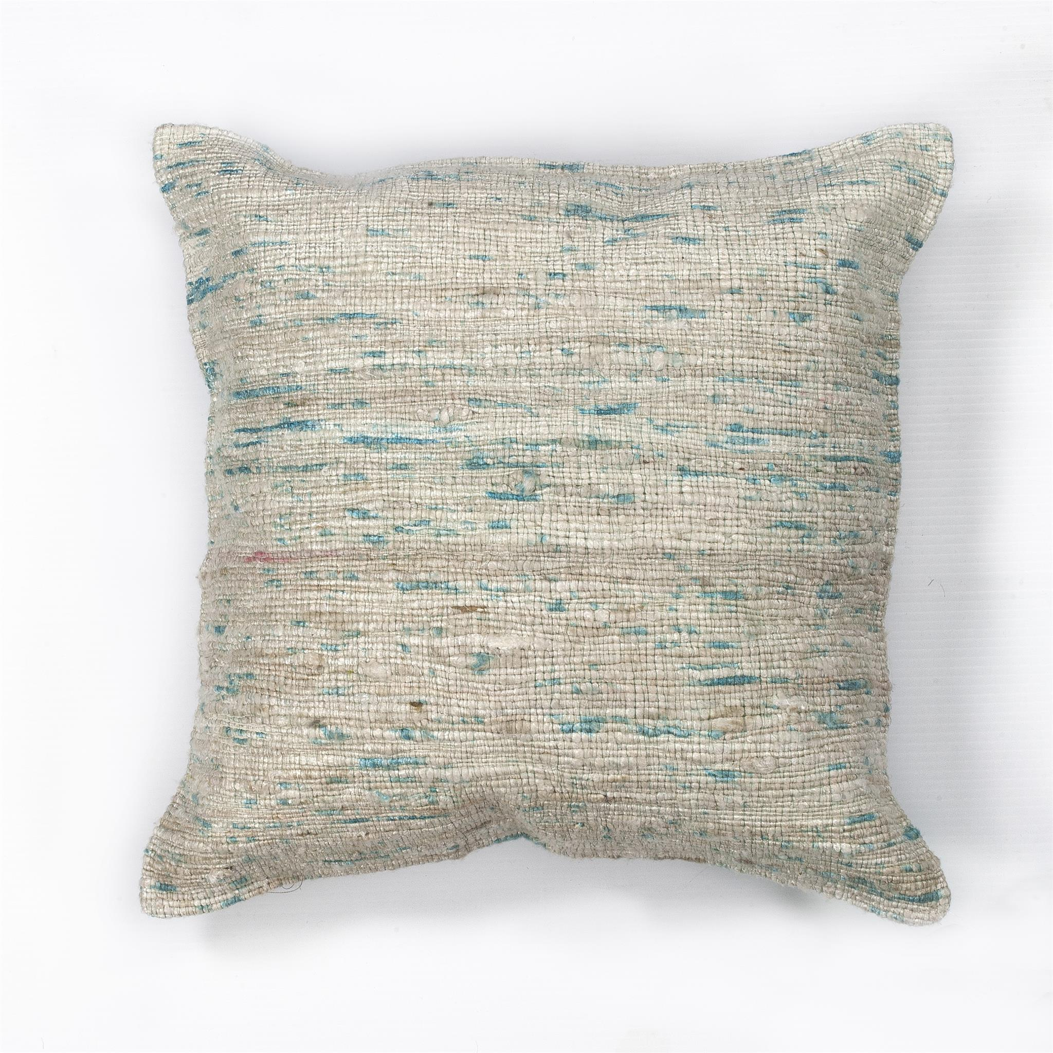 L101 Ice Blue Viscose Pillow