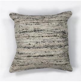 L103 Black & White Viscose Pillow