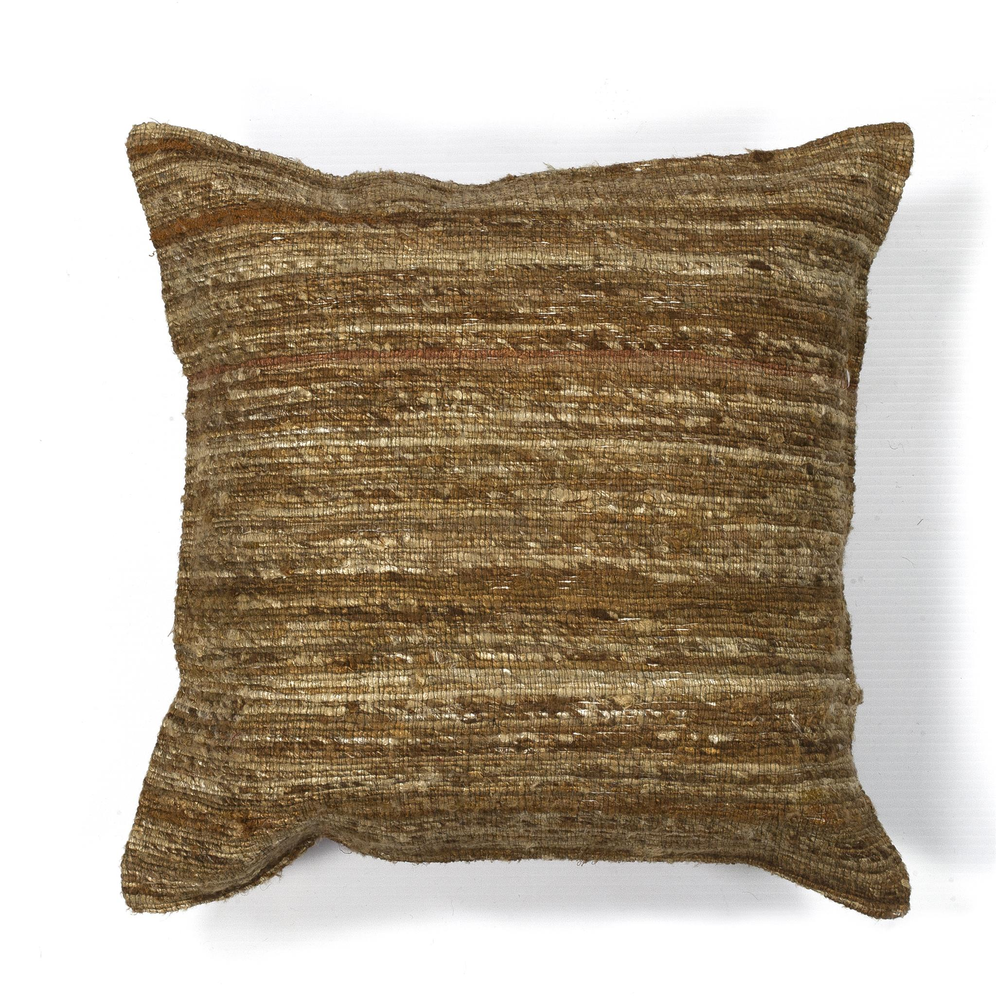 L104 Beige Viscose Pillow
