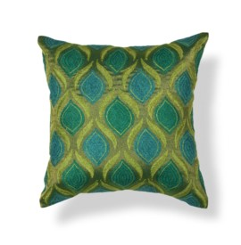 L107 Teal/Green Tribeca Pillow