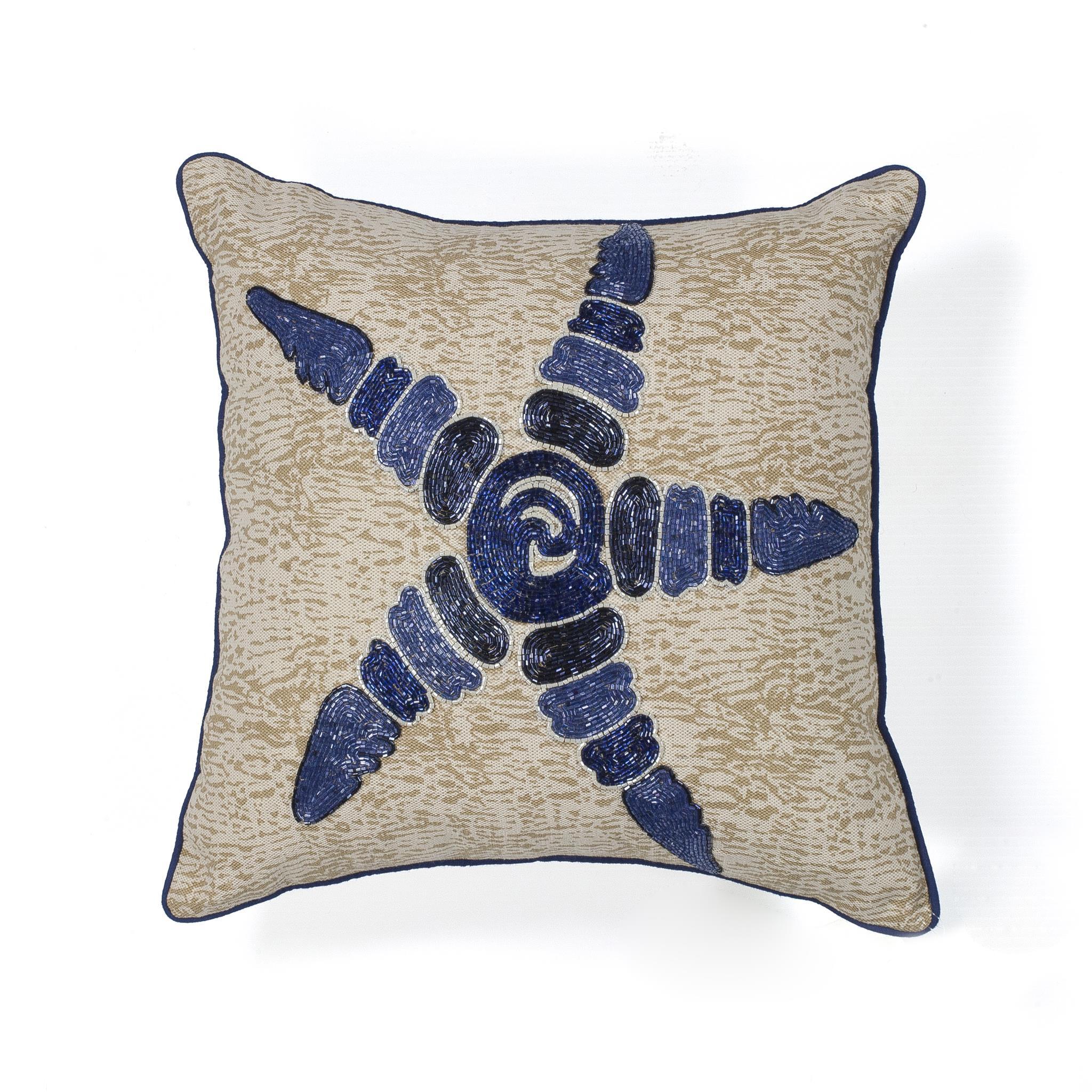 L109 Starfish Elegance Pillow