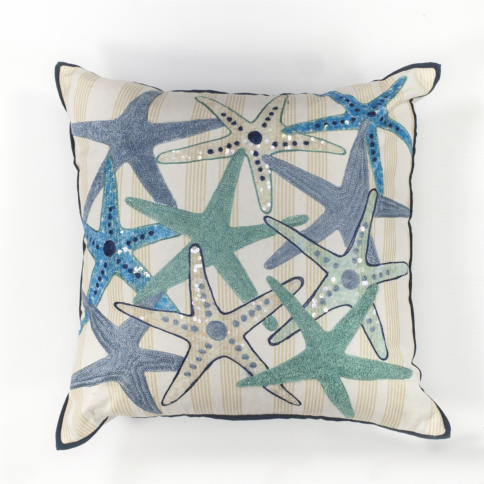L110 Starfish Gala Pillow