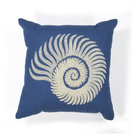L111 Seashell Spiral Pillow