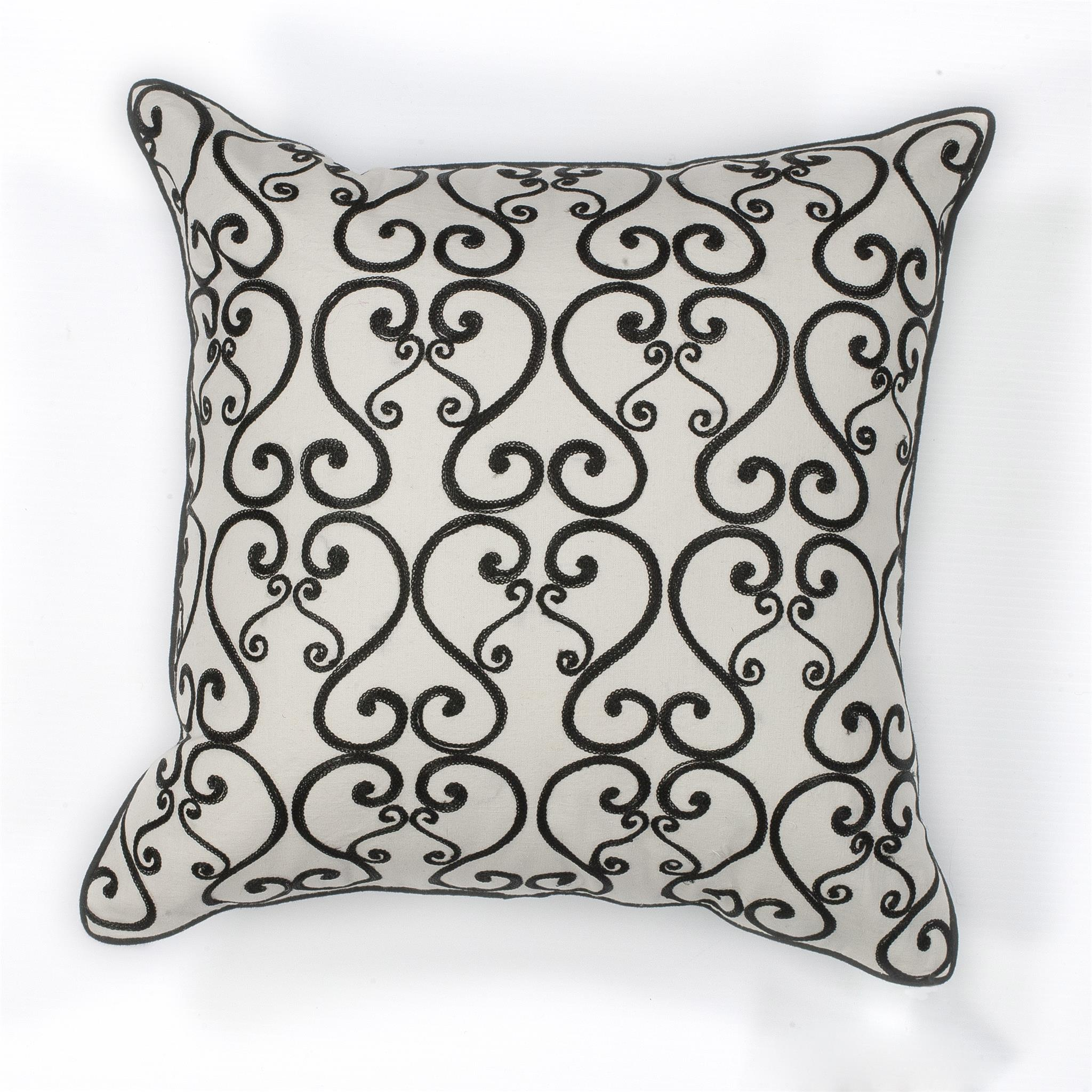 L120 White/Black Luminous Pillow