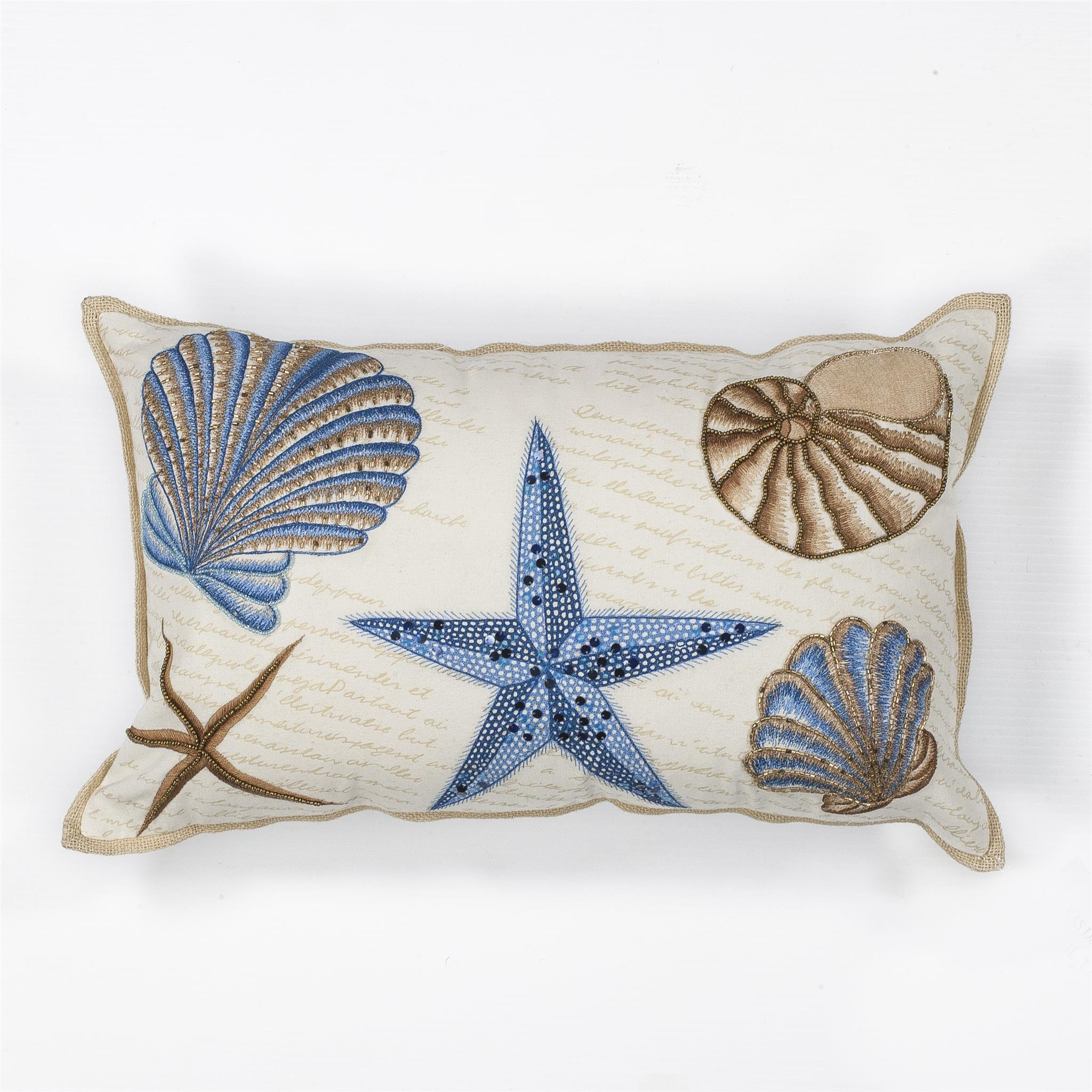 L168 Seashells Pillow
