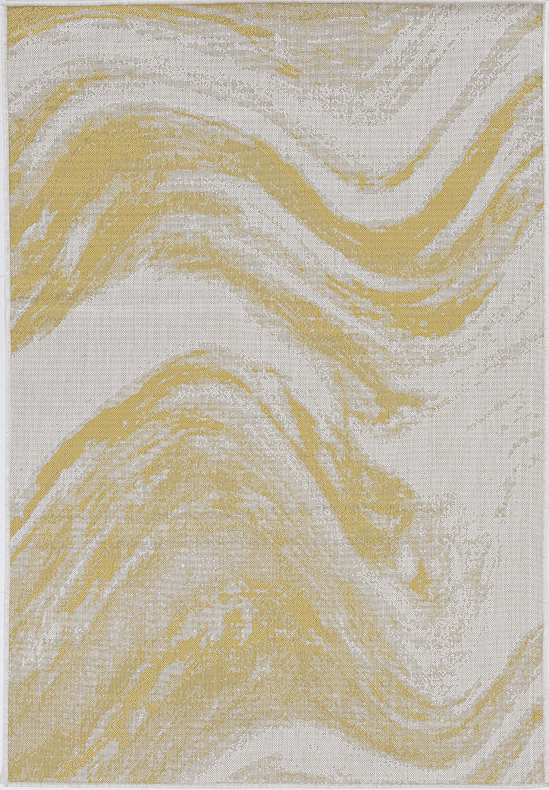 Provo 5764 Ivory/Gold Strokes