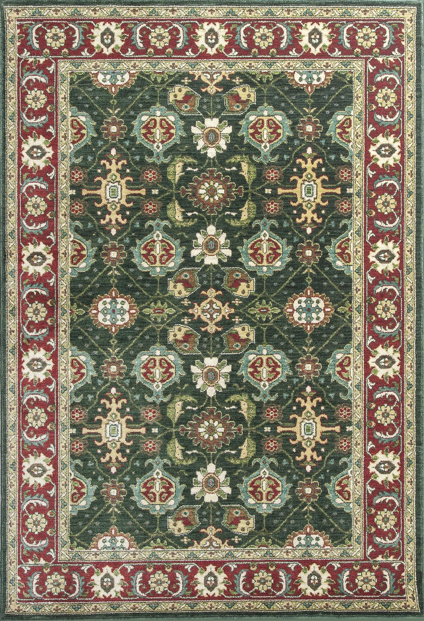 Shiraz 5005 Emerald/Red Mahal