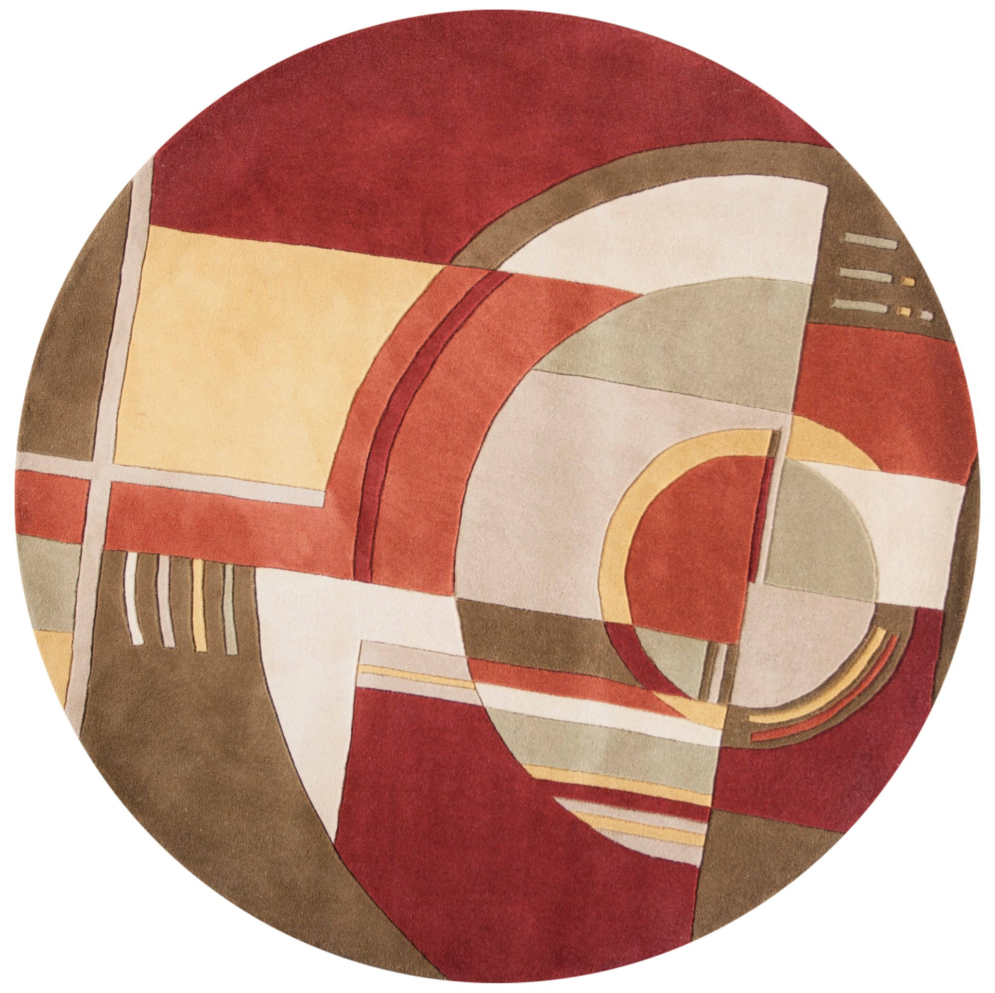 Signature 9134 Rust/Coffee Art Deco