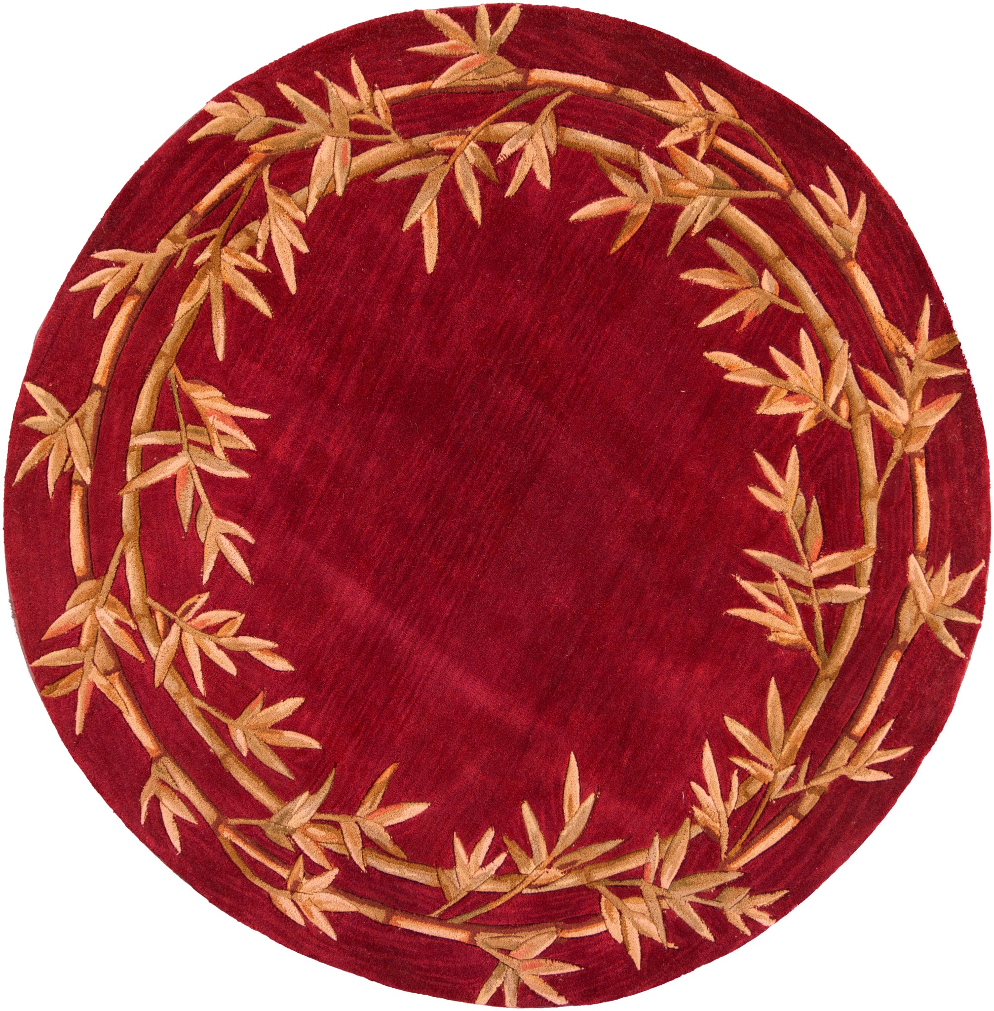 Sparta 3145 Red Bamboo Double Border