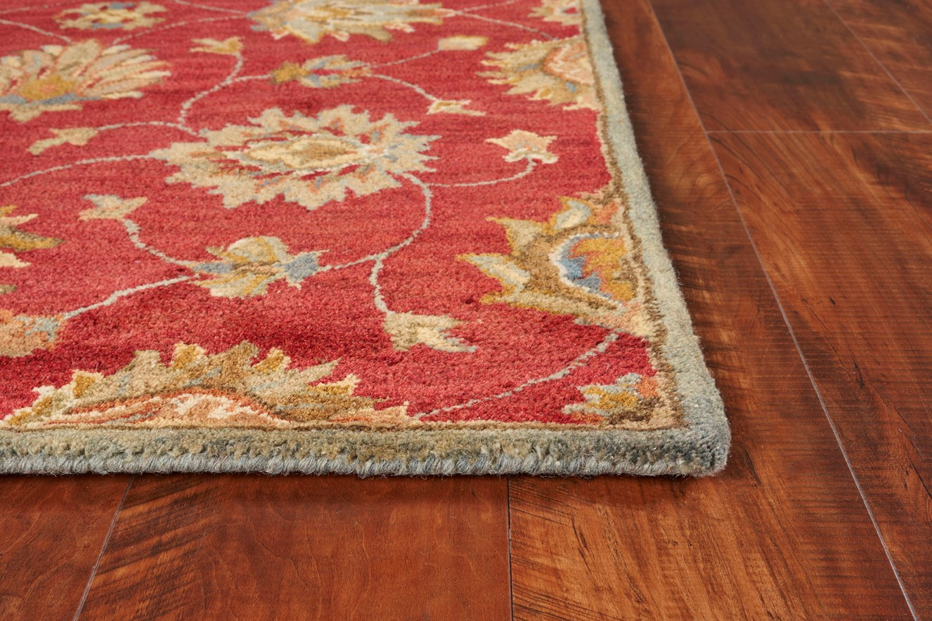 Syriana 6003 Red Allover Kashan