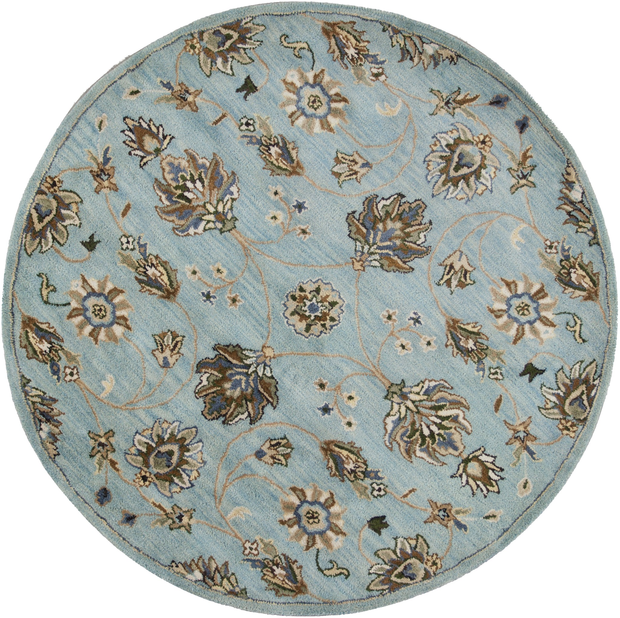 Syriana 6029 Blue Allover Kashia