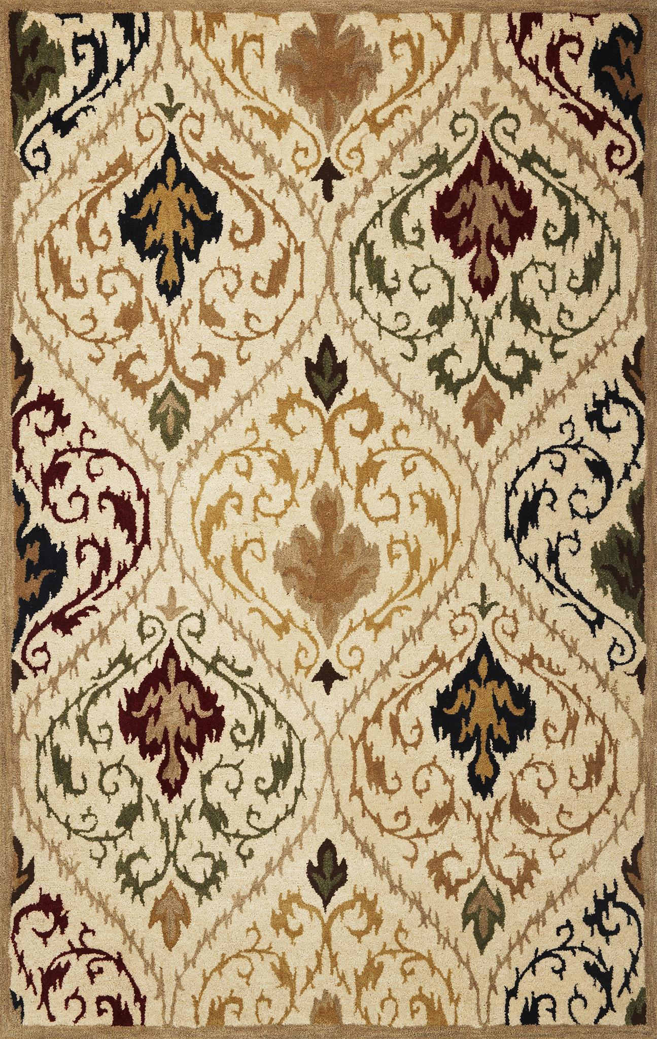 Tapestry 6804 Ivory/Beige Panel