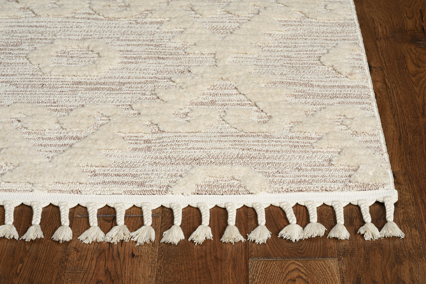 Willow 1103 Ivory Beige Boho