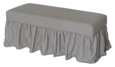 *LONG BENCH SLIP COVER