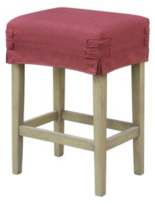 *SHORT SADDLE STOOL SLIP COVER