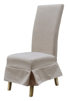 *SHORT PARSONS CHAIR SLIP COVER