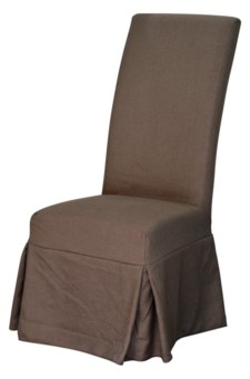 *LONG PARSONS CHAIR SLIP COVER