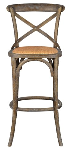 -BENNETT 30IN X-BACK  STOOL