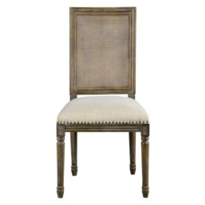-SQUARE MAXWELL SIDE  CHAIR W/ CANE