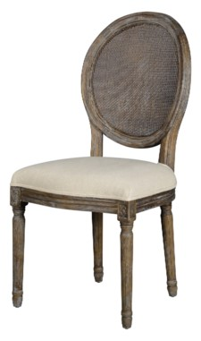 -ROUND MESH BACK MAXWELL SIDE CHAIR