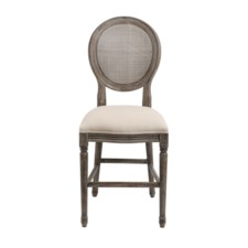 -*MADDOX 24IN MESH BACK STOOL