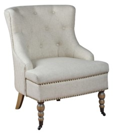 -EMORY TUFTED CHAIR