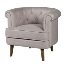 *MEGHAN TUFTED TUB CHAIR